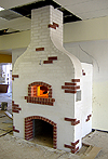 Russian-style wood-fired bread & pizza oven